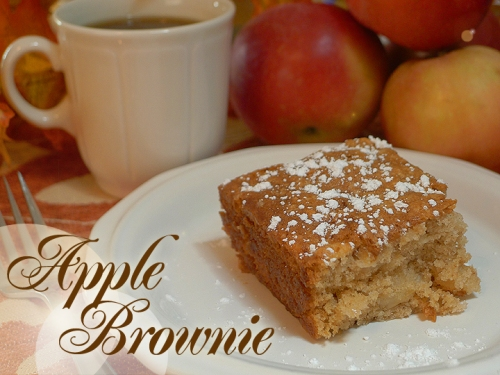 Apple Brownie