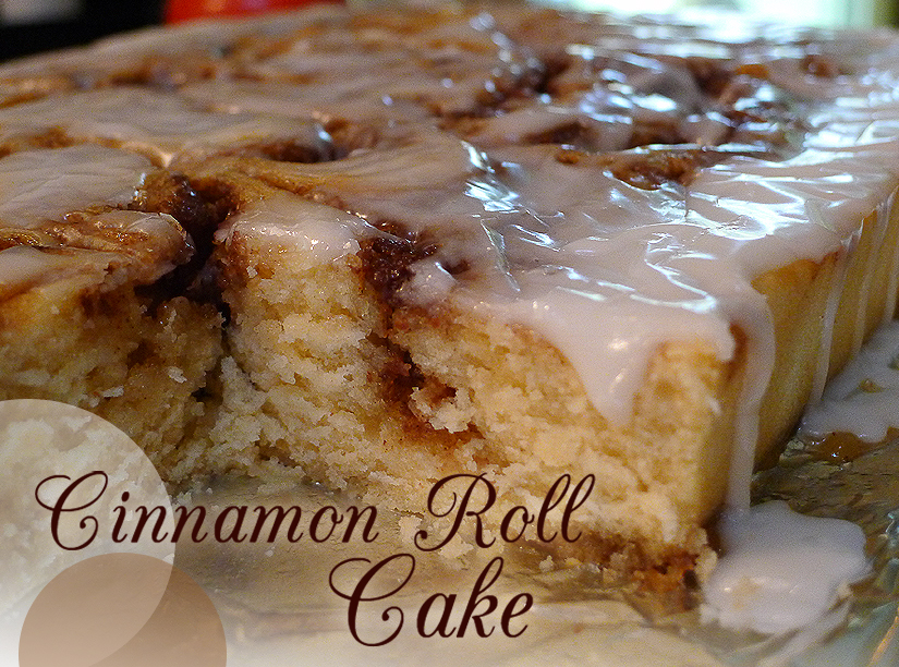Cinnamon Roll Cake 171 Cooking With Amanda