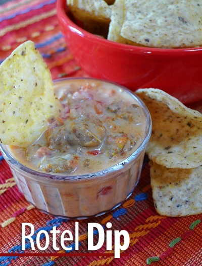 how to cook rotel dip